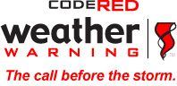 CodeRED Weather Warning. The call before the storm.