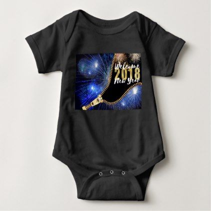 2018 BABY BODYSUIT - new years eve happy new year holiday diy party