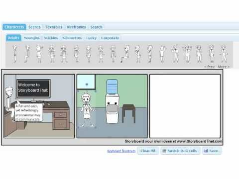 Storyboardthat.com- This platform provides instructors and learners  a creative and fun way to learn and visually communicate. Learners can use it to practice a foreign language, write a creative story or highlight key passages. The possibilities of usage are limitless depending on the creativity of the user.