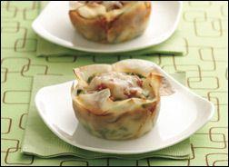 Healthy Lasagna Cupcakes