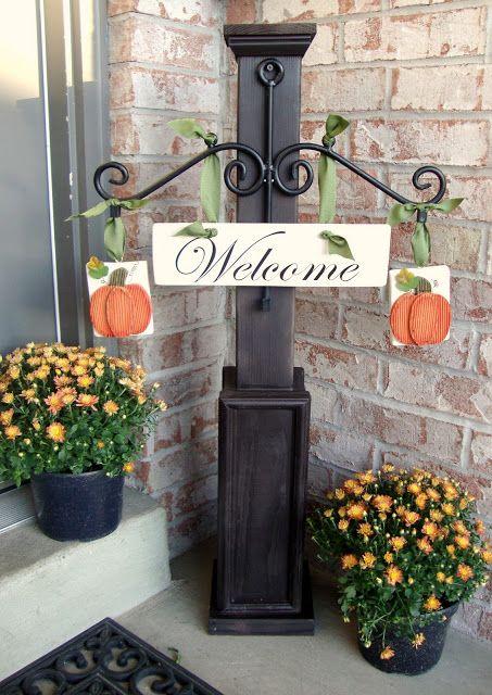Just Between Friends: Seasonal Welcome Post