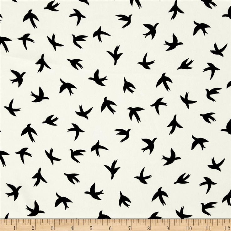 Moda Crepe Bird Print White/Black from @fabricdotcom  Fashionable, very lightweight and soft, this crepe fabric is perfect for trendy blouses, scarves, fashionable flowy dresses and skirts.with a lining. Colors include black and white. This crepe fabric has an opaque appearance, much like Crepe Georgette, but has a finer weave.