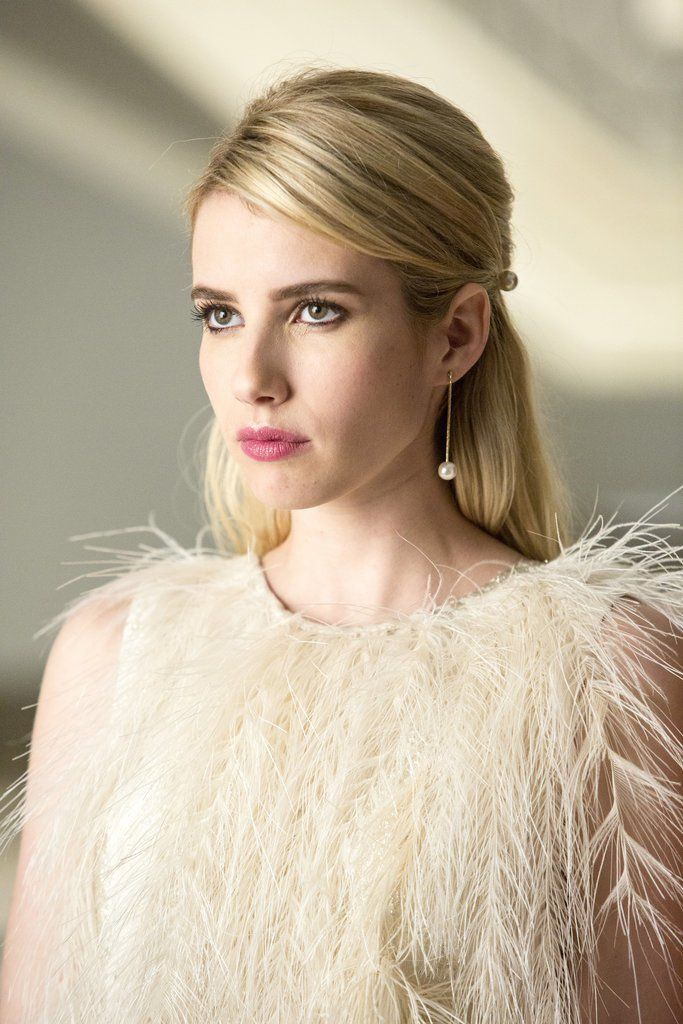 Pin for Later: Drop-Dead Gorgeous Holiday Hair Ideas to Steal From Scream Queens Chanel Oberlin