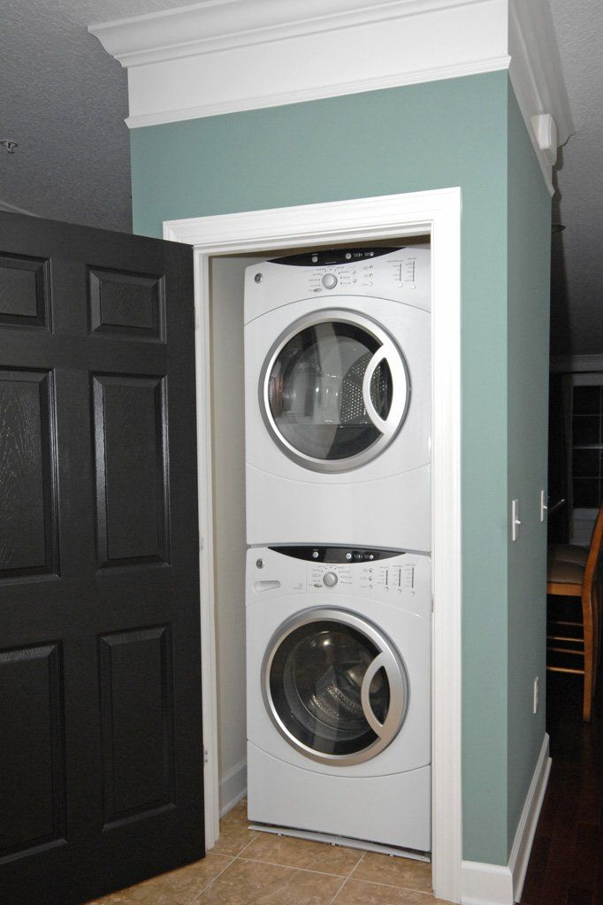 Stackable washer and dryer google search busy spaces pinterest washer and dryer the o - Small space washing machines set ...