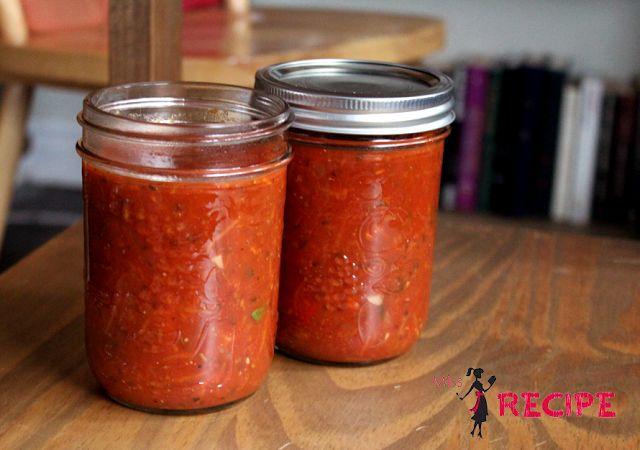 sauce-spaghetti-vegetarienne-vegetarian.  -ajouter une tasse de chou-fleur pour l'aspect croquant-