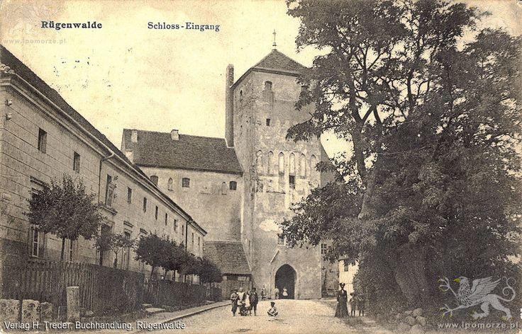 Darłowo. Zamek Książąt Pomorskich. Ok. 1909 rok