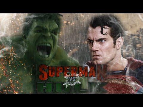 Hulk vs Superman Epic Trailer Promo - YouTube