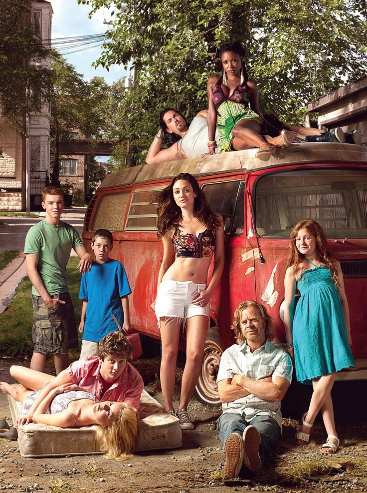 This image is the perfect example of how females and men are shown, Fiona leaning on the car is in hardly no clothing (she takes care of the family), the girl laying on the mattress and Veronica on top of the car.