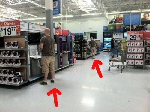 meanwhile in walmart -