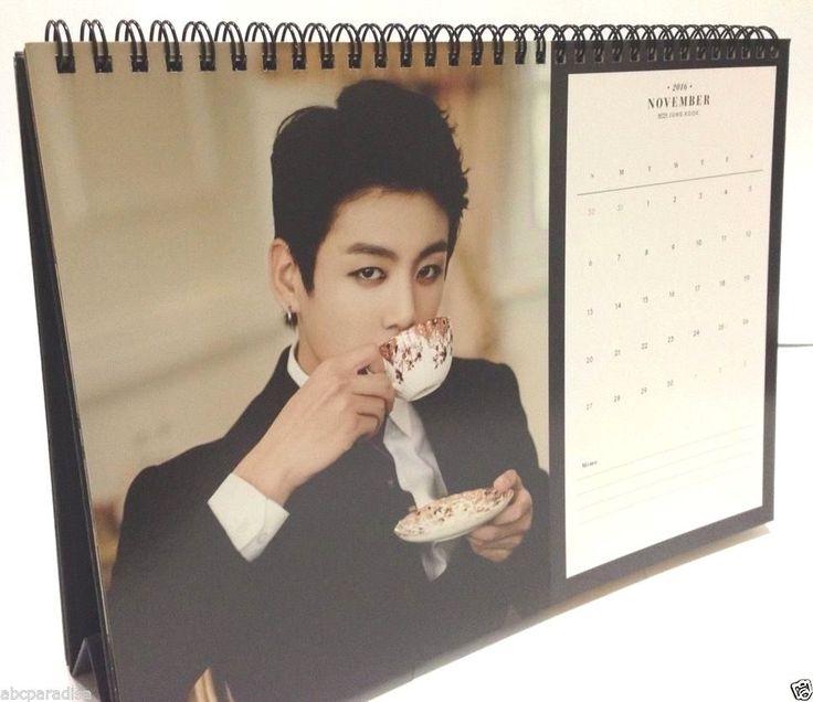 Bangtan Boys 2016 Season's Greeting Calendar filled with pictorial of BTS Kpop