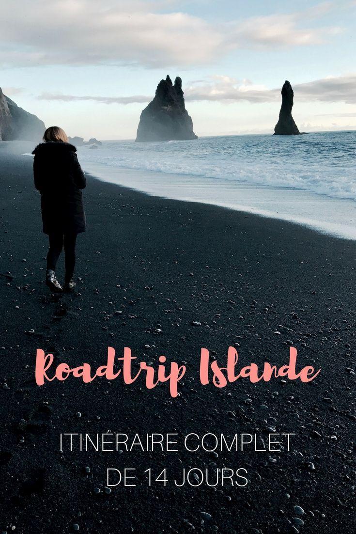 Itinéraire complet pour un street journey en Islande