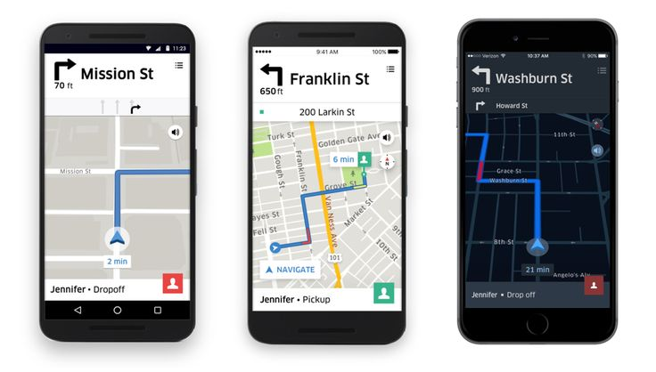Uber revamps navigation for iOS app finally adds navigation for Android     - Roadshow Using a phone to navigate from behind the wheel can be tricky  you have to balance distraction against safety and still reach your destination. For Uber drivers that job is about to get a bit easier.  Uber is releasing a new in-app navigation system for its iOS app. Android users will no doubt be overjoyed to hear that the ridesharing company is finally offering in-app navigation for Android phones too…