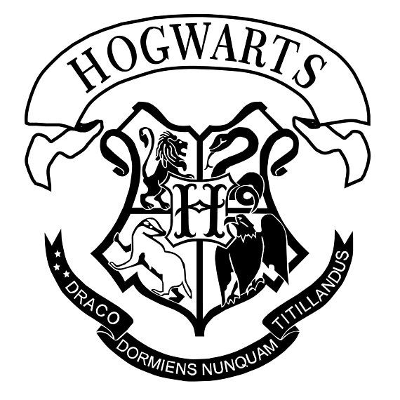 Hogwarts Shield Svg Jpg Eps Png Pdf Dxf Vector Files You Will Receive The Following 1 E Harry Potter Stencils Harry Potter Logo Harry Potter Ornaments