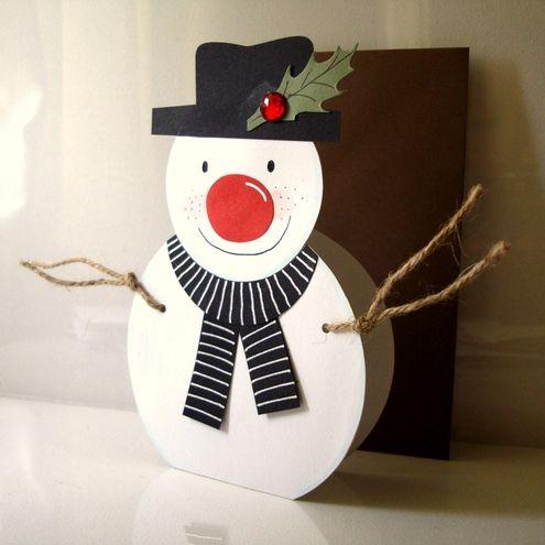 cartoes engraçados de natal feito pelas crianças - Pesquisa Google