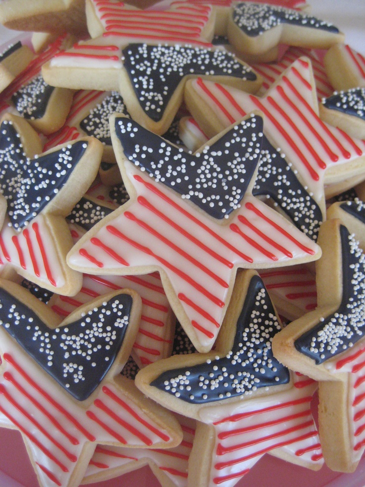 Happy Memorial Day!  Custom Decorated Cookies from www.OneCreativeCookie.com.