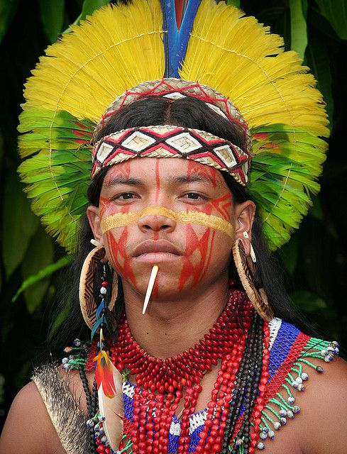 Ubiranã Pataxó _  Ubiranã is a member of the Pataxó nation. He lives in the Coroa Vermelha indigenous reservation, in the southern part of the state of Bahia, Brazil. The area is known as Discovery Coast; that is where the Portuguese explorers first arrived in 1500. ( Thanks for the invite )