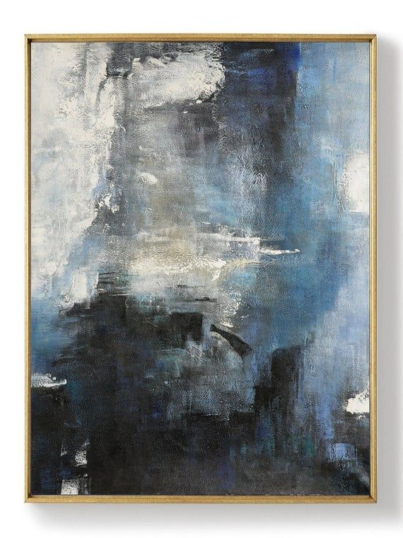 Large Abstract Sea Original Abstract Art Painting Large Wall