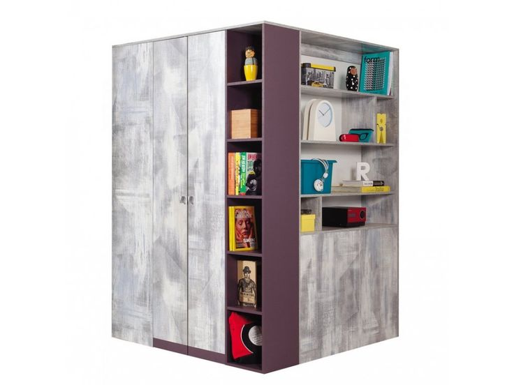 Ponúkame vám produkt: Rohová kombinovaná skriňa Zoom ZM1 na predaj. Vyberte si nábytok u odborníkov na omega-nabytok.sk.