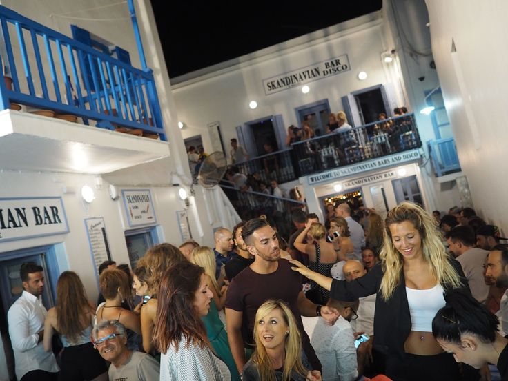 Socializing Outside From The Bars And The #Club Is A Must. Grab Your Drink From The #Bars Downstairs And Lay Back. #mykonos-clubs #mykonos-vita-notturna #mykonos-locali