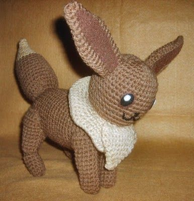 Eevee Crochet doll! This whole site is actually full of ...
