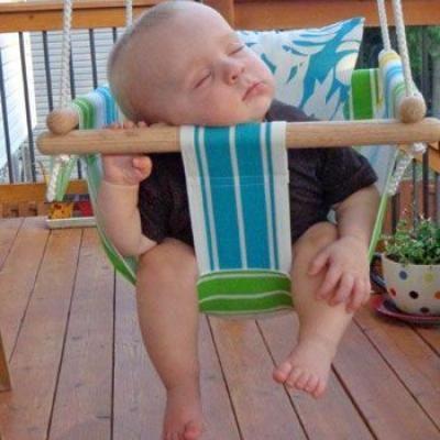 Baby Accessories DIY Baby Swing  - Tip Junkie