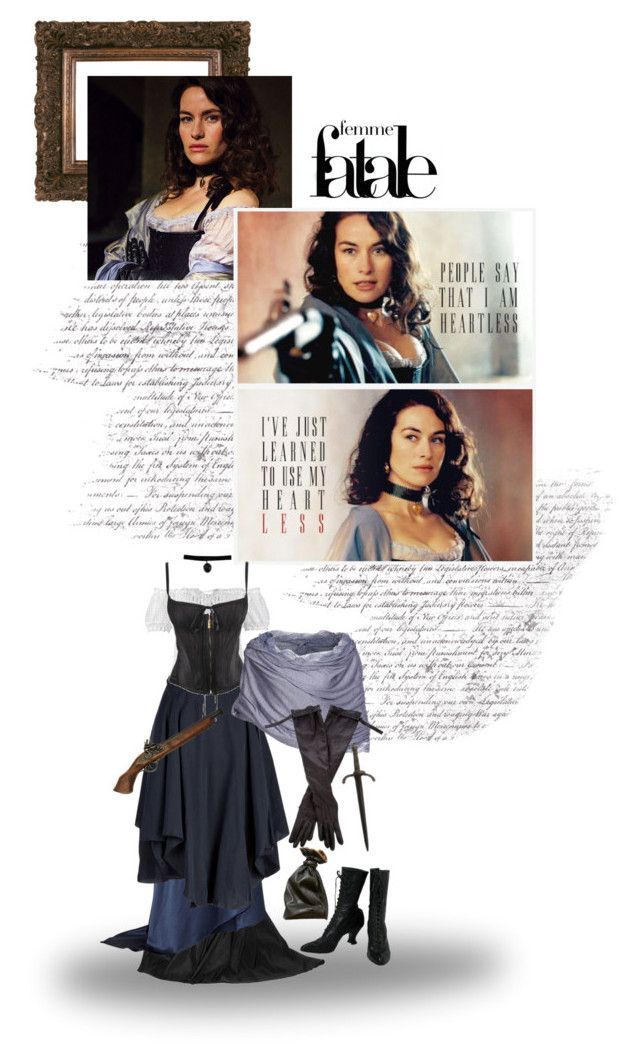 """Femme Fatale - Milady de Winter / Ann"" by savagedamsel ❤ liked on Polyvore featuring Krüger Dirndl, Lanvin, Michael Lo Sordo, Vivienne Westwood Anglomania, Roberto Cavalli, Molly Bracken, Ann Demeulemeester, bbc, characters and musketeers"