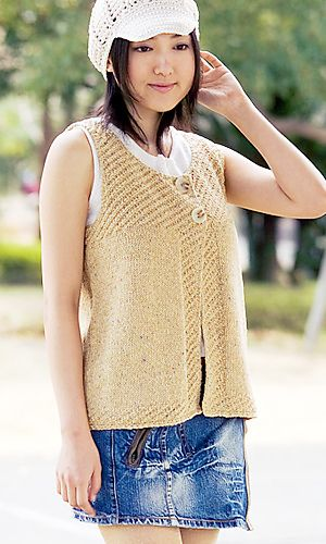 972 best knit vests images on Pinterest | Knitting patterns ...