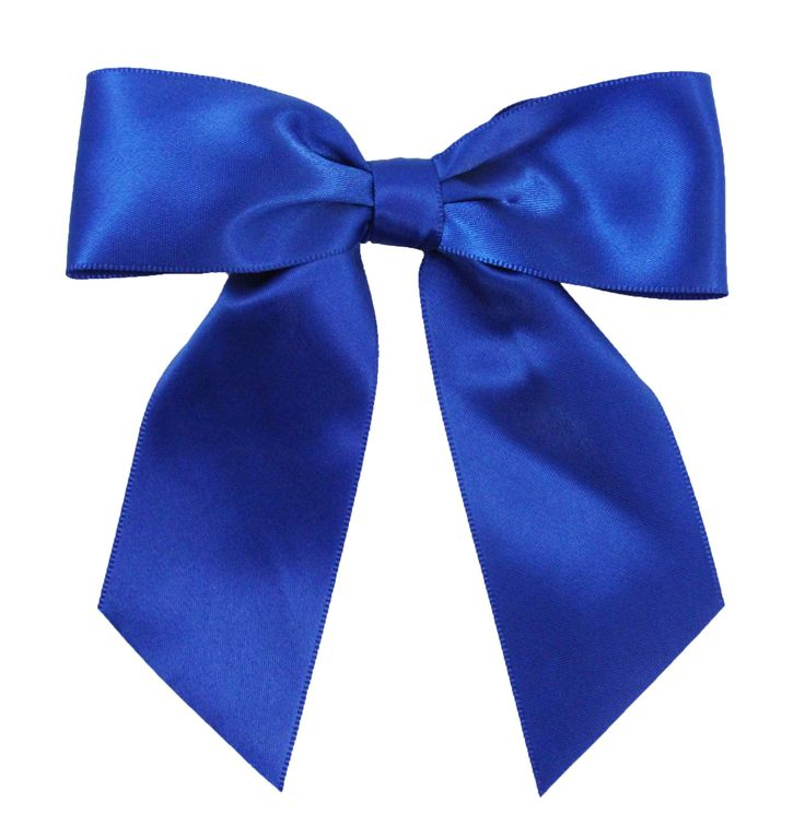 """Wholesale Princess 5"""" Satin Hair Bows (Royal Blue). Adorable Sequin Bow Tie Hair Clips. Perfect Addition To Every Girls Cute Little Outfit!. Comes with Alligator Clip Attached - Clip it Anywhere!. Available in Multiple Bright Colors. 5"""" Wide x 5"""" Tall *Due to the handmade nature of this product some bows may vary slightly."""
