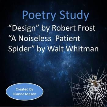 what is the meaning of design by robert frost