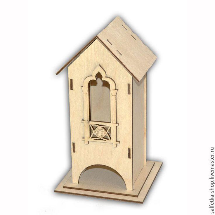 Купить или заказать Чайный домик 'Стрельчатое окно с балконом' в интернет-магазине на Ярмарке Мастеров. Размер 24х13х13 см. Изготовлен из фанеры толщиной 3 мм. Поставляется в разобранном виде. Чайный домик 'Стрельчатое окно с балконом' сделан из качественной березовой фанеры, толщиной 3 мм. Рассчитан для хранения чайных пакетиков в индивидуальной упаковке. Чайный домик 'Стрельчатое окно с балконом' подходит для декупажа и росписи. В дополнение к домику для чая, мы реко...