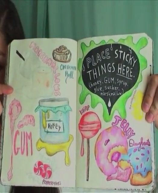 Wreck this journal idea