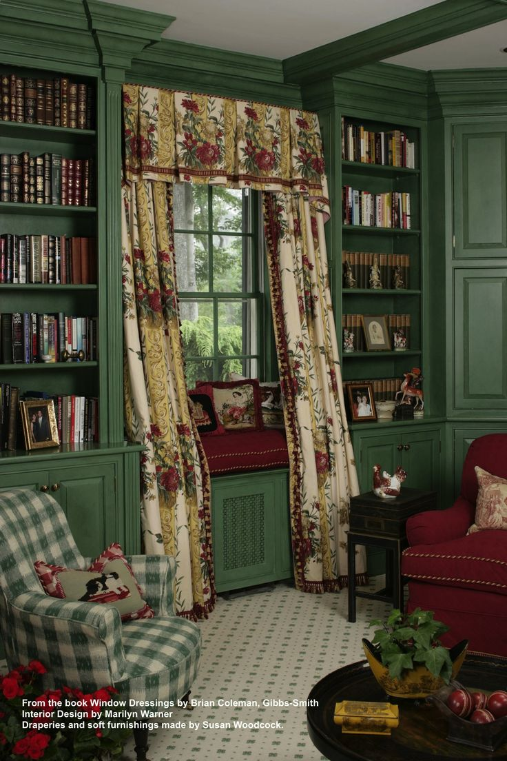 From The Book Window Dressings By Brian Coleman Interior Design