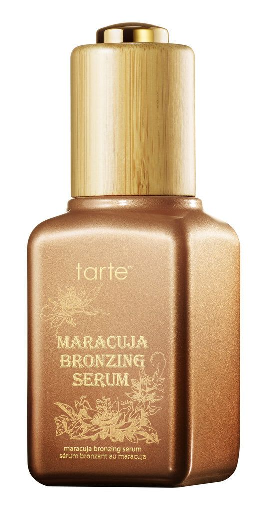 Tarte Maracuja Bronzing Serum ($36)  will improve your skin while giving you a radiant glow.