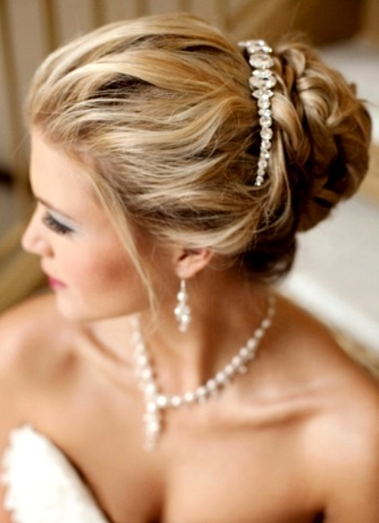 Incredible 1000 Images About Wedding Hair On Pinterest Updo Loose Buns Short Hairstyles Gunalazisus