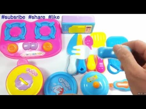 Kids Toys   Kitchen Set Meal