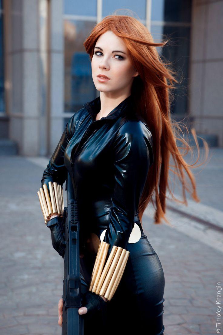 Black Widow by Anastasya01.deviantart.com on @deviantART