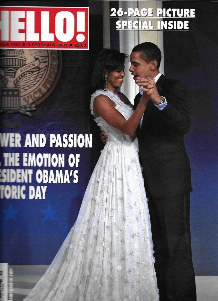 Hello magazine President Barack and Michelle Obama Joan Collins Tom Cruise
