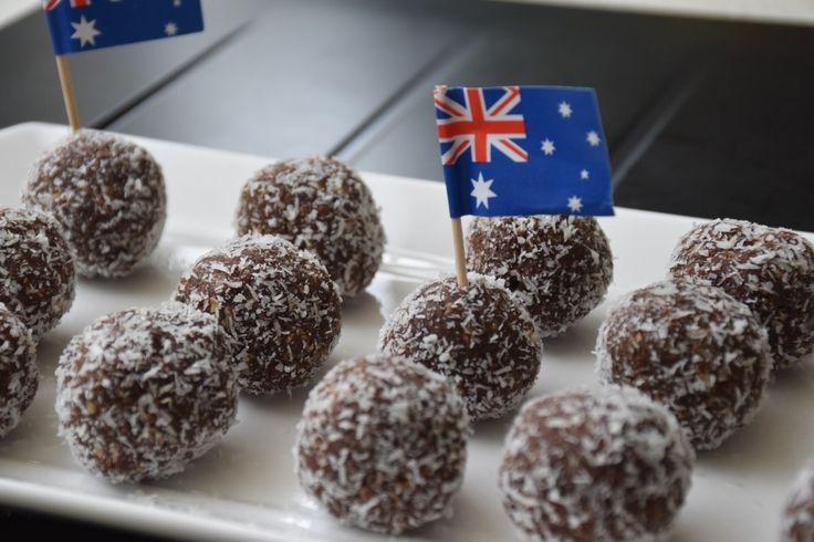 Australia Day 'Paleo' Lamingtons - What Annabel Cooks