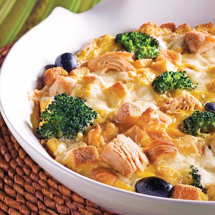Rien de plus simple que de préparer une frittata! Servez-vous de votre imagination pour y ajouter les ingrédients de votre choix!