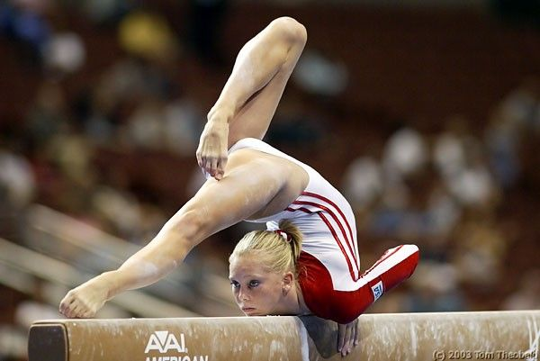 One of my favorite gymnasts- the beautiful and inspiring, Hollie Vise :)