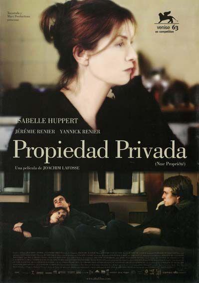 """Propiedad privada (2006) """"Nue propriété"""" de Joachim Lafosse - tt0855895"""