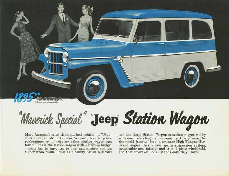 1958 Jeep Station Wagon ad