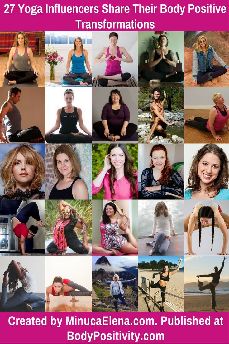 27 Yoga Influencers Share Their Body Positive Transformations  Yoga helps you accept and love your body as it is. Through meditation, breathing correctly, and pushing your body to do new things that seemed impossible, you will be able to find peace and bring joy into your life.  We approached 27 yoga experts to find out how they have used their practice of yoga to create more body positivity in their lives!