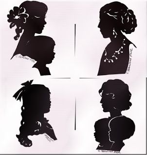 Silhouette Artist Cindi for weddings, love, and beauty tips!: Concise History of Silhouette Artist and Art for d...