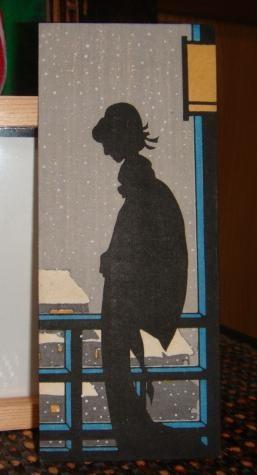Yumeji Takehisa - Woman in Profile by the Window