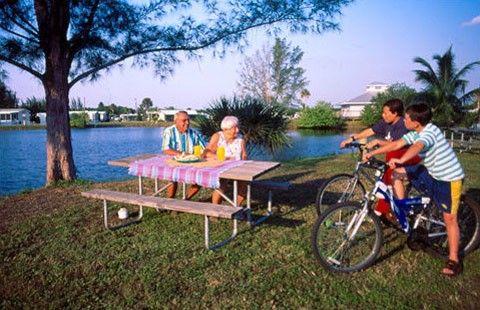 St. James City, Florida Campground   Fort Myers / Pine Island KOA