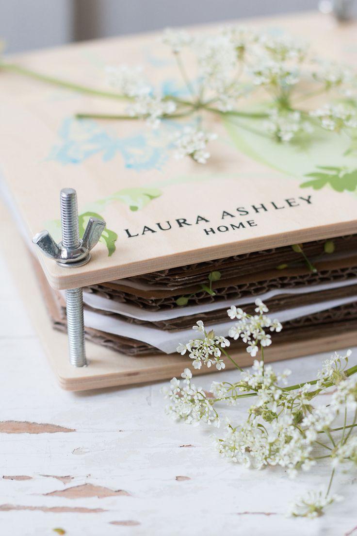 Laura Ashley Blog   MAKE and DO: LAURA'S FLOWER PRESSING PT.1   http://blog.lauraashley.com