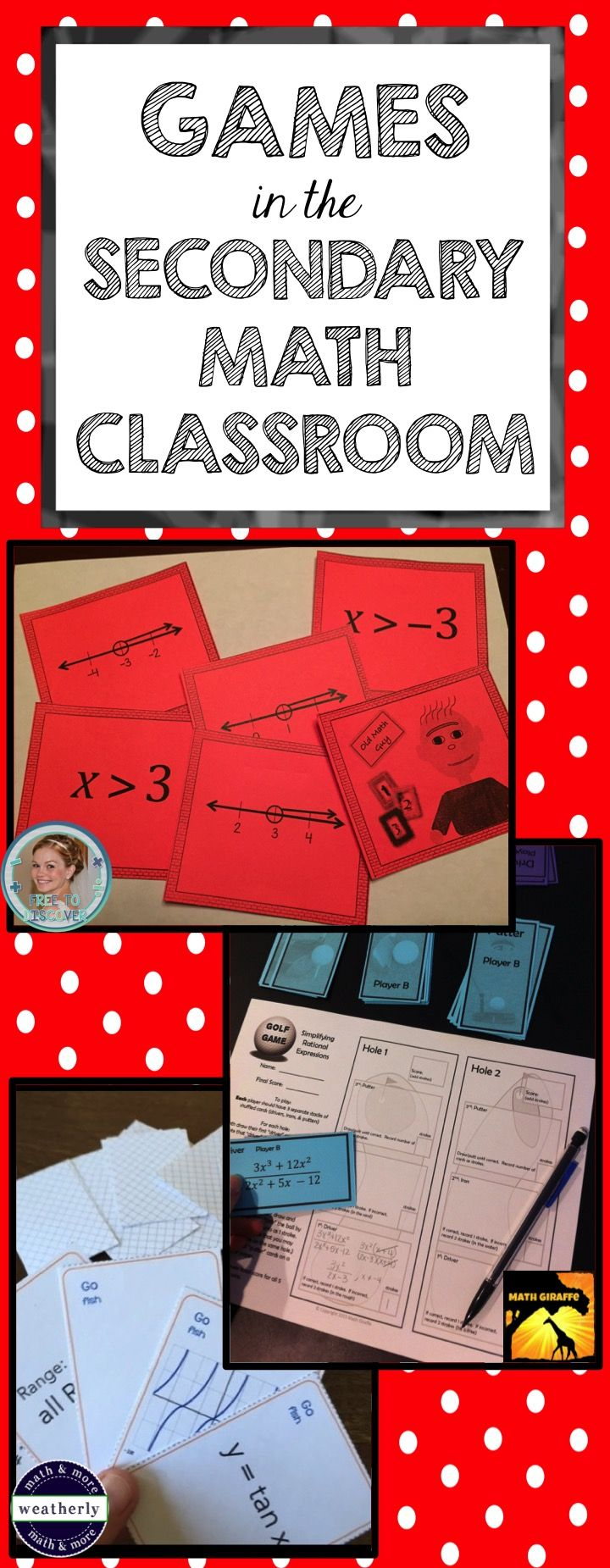 78 best 7th grade math images on pinterest high school maths math i have always used games as a way to review math concepts however tpt fandeluxe Images