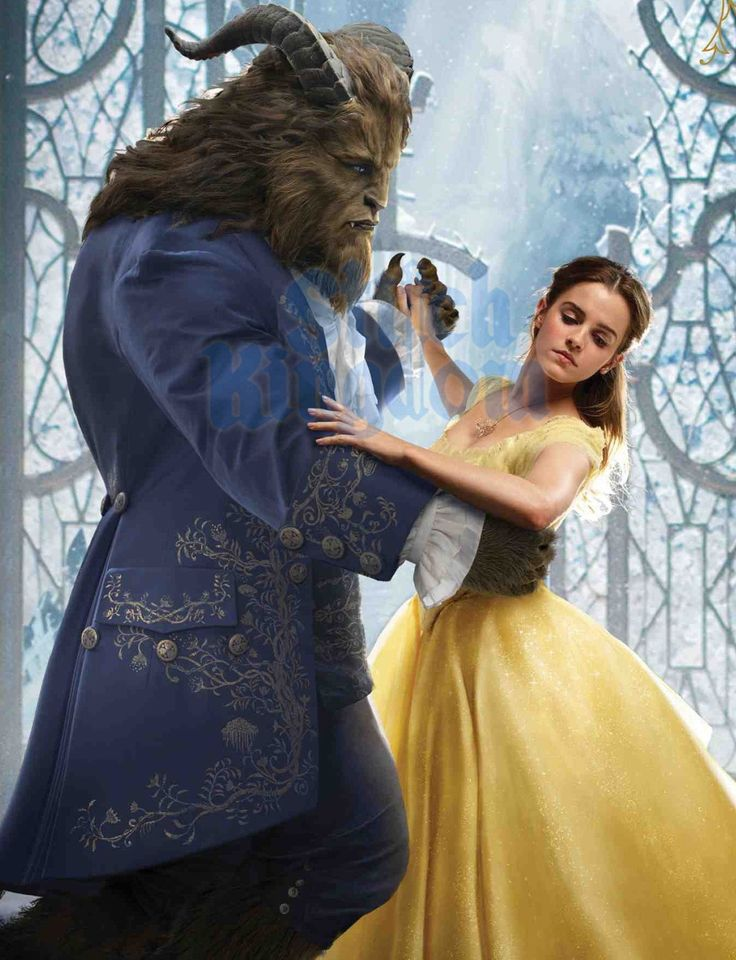 #EmmaWatson & #DanStevens in Beauty and The Beast