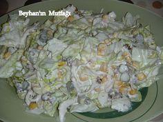 Göbekli tavuklu salata